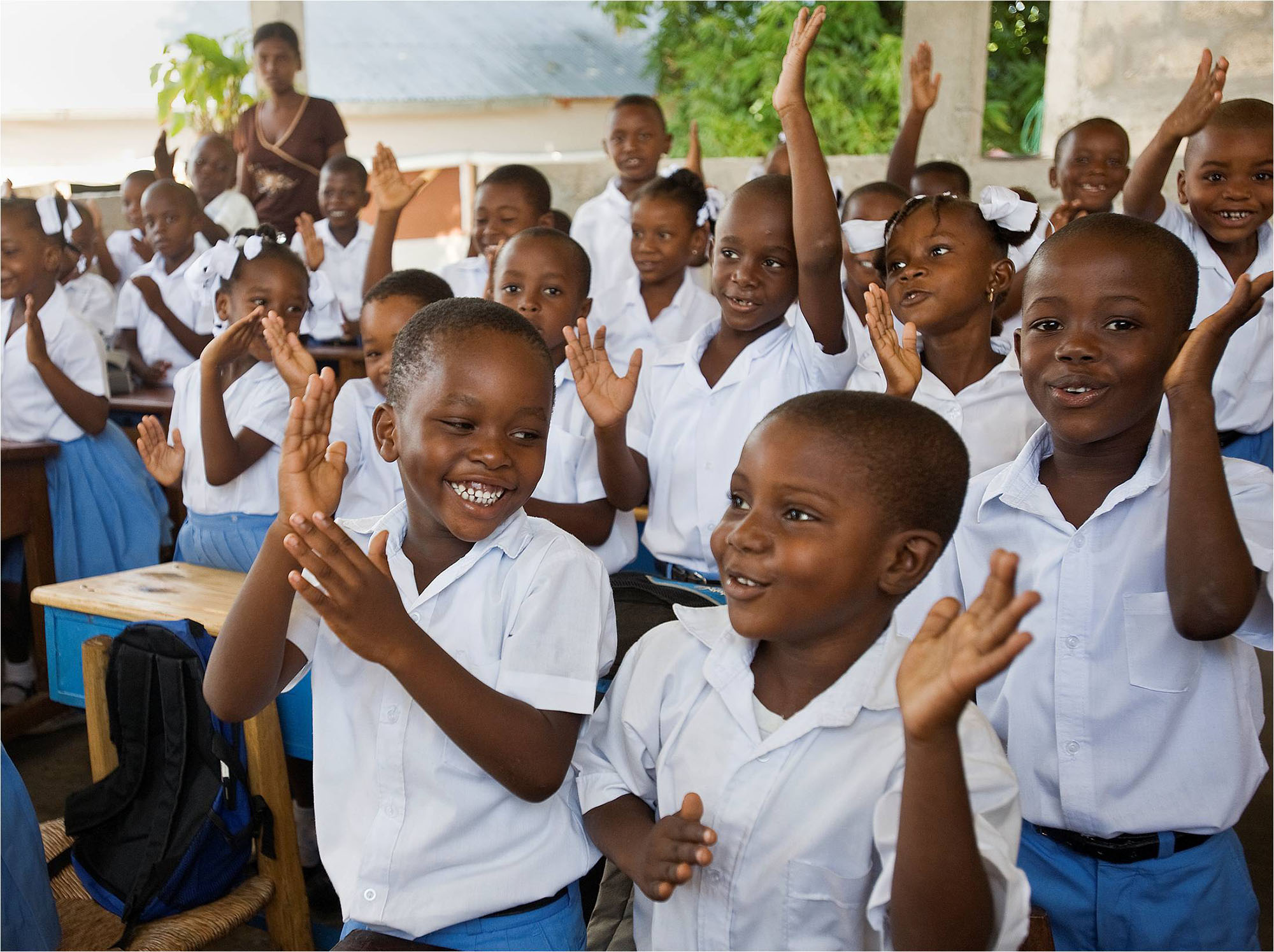 Haiti S Children Will Get Better Access To Quality