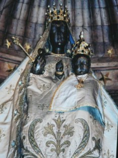 Our Lady of the Pillar. Gothic Cathedral. Chartes, France.