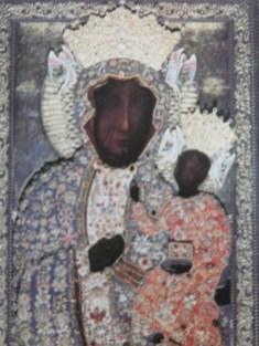 Our Lady of Jasna Gora. Czestochowa, Poland.