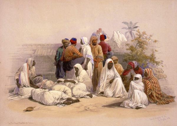 arabs enslaving african women as concubines