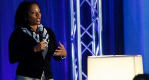 Riana Lynn said she plans to release a report about minority tech founders along with a resource website in January. (James C. Svehla/Blue Sky)