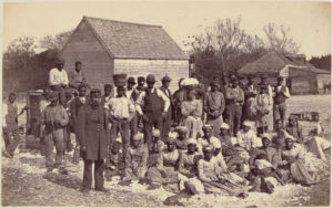 The enslaved people of General Thomas F. Drayton, 1862 © Henry P. Moore