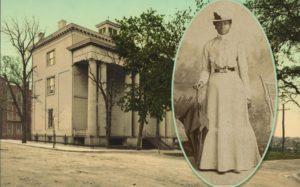 Mary Elizabeth Bowser, a Black Union spy during the Civil War.