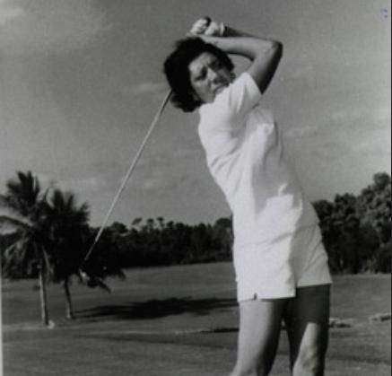 althea gibson golfing