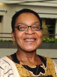 Dr. Linda James Myers, Professor of Psychology, Psychiatry and African American Studies at The Ohio State University and Director of The Ohio State University Black Studies Extension Center in Columbus, Ohio