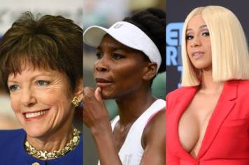Mary Norwood, Venus Williams, Cardi B