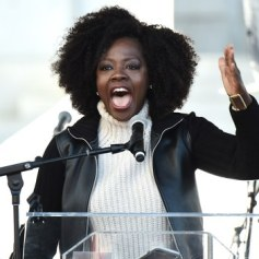 Women's March Viola Davis