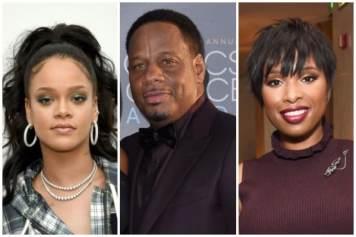 Rihanna, Kendu Isaacs, Jennifer Hudson
