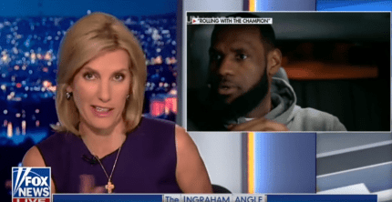fox news lebron