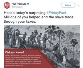 Treasury Slave Tweet