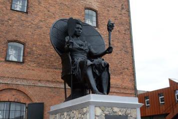 Black Woman Statue Denmark