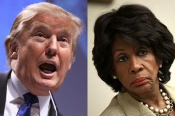 Trump Threatens Maxine Waters