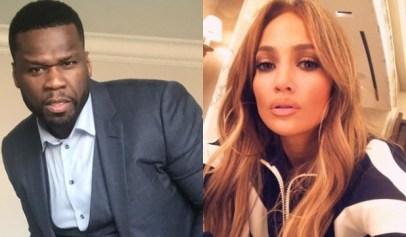 50 Cent Lusts After New Photo of Jennifer Lopez
