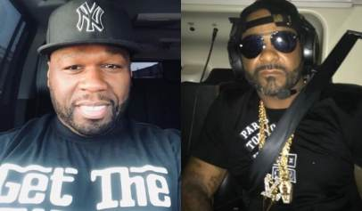 50 Cent and Jim Jones Diss Each Other On Instagram