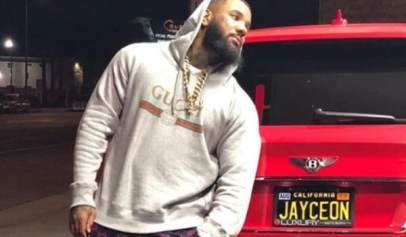 The Game Gets Clowned For Having an Expired License Plate On His Bentley