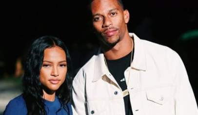 Karrueche Tran Posted a Bunch of Romantic Birthday Photos With Victor Cruz
