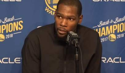 Kevin Durant was fined $25,000 for dealing with a heckler