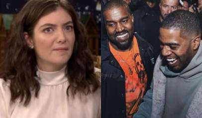 Lorde Gets Blasted After Saying that Kanye West and Kid Cudi Stole Her Stage Idea