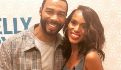 Omari Hardwick and Kerry Washington Photo Has Fans Asking For The Two Actors To Work Together