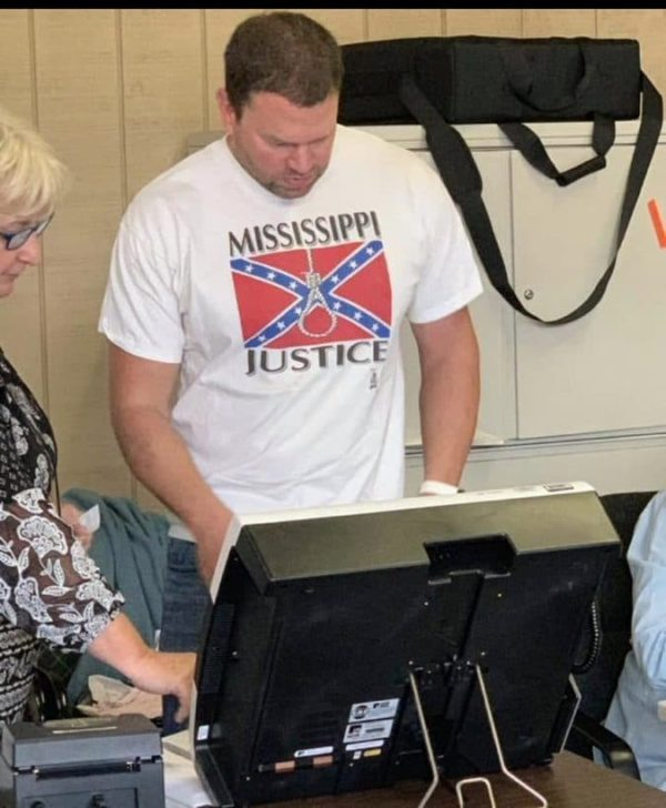Racist Mississippi Voter