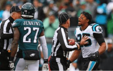 Eric Reid Goes Head-to-head with Malcom Jenkins