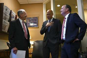 Cory Booker, Chuck Grassley, Mike Lee