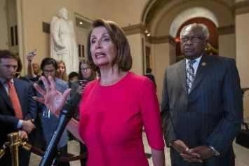 James Clyburn, Nancy Pelosi