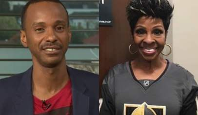 Tevin Campbell defended Gladys Knight's choice to sing the National Anthem at the Super Bowl.
