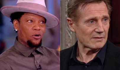 D.L. Hughley responded to Liam Neeson saying that he wanted to kill a Black man.