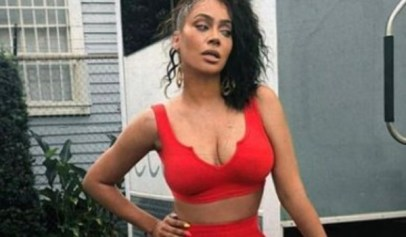 """La La Anthony drives her male fans crazy with photo from Drake's """"In My Feelings"""" video."""