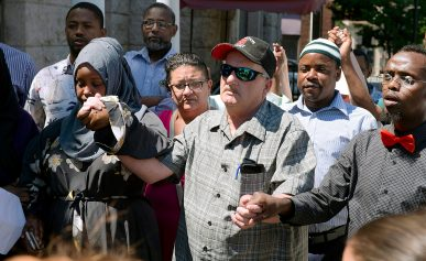 Mayor Texts Racial Tension