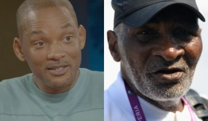A lot of people are saying Will Smith doesn't have a dark enough complexion to play Richard Williams in a new movie.