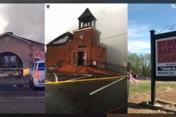 Louisiana Church Fires