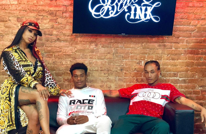 Ima Cry Black Ink Crew Sky Days Seemingly On Good Terms With Eldest Son