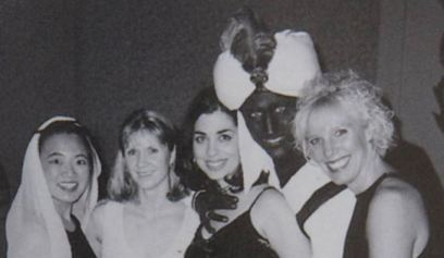 Canadian Prime Minister in blackface