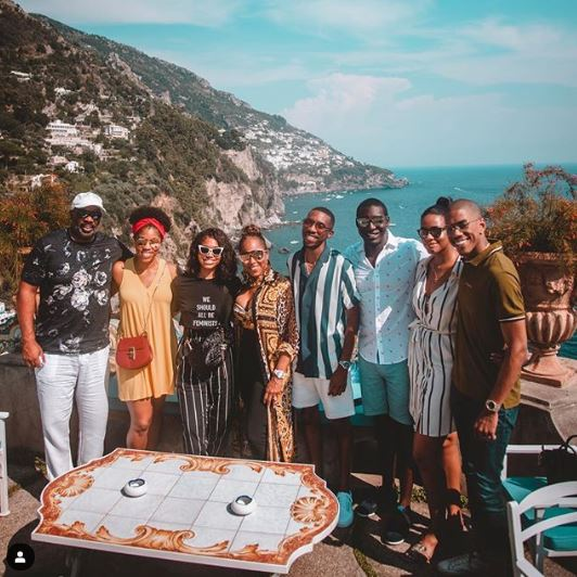Family at Amalfi Coast