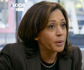 Kamala Harris in Axios interview