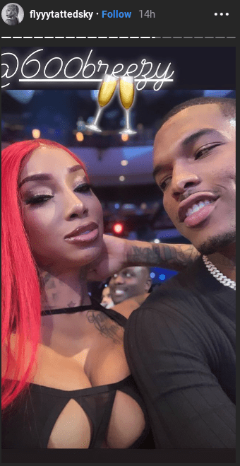 Wayment Black Ink Crew Star Sky Days Shows Off Her New Bae