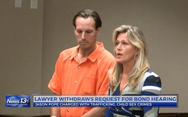 Jason Roger Pope Appears in Court