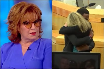Joy Behar reacts to Forgiveness by Botham Jean's Family