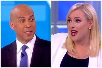 Cory Booker and Meghan McCain
