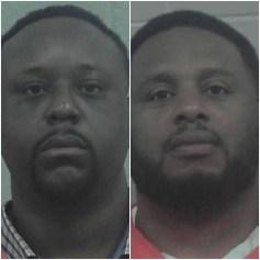 Mugshots of two Black men