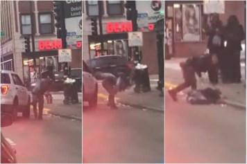 Chicago Police Body Slam Man