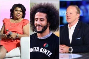 April Ryan, Colin Kaepernick and Sean Spicer