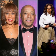 Gayle King, Russell Simmons, Oprah