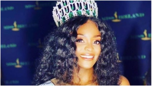 Pamela Uba first Black Miss Ireland