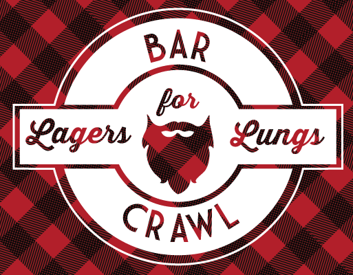 Lagers-for-Lungs logo