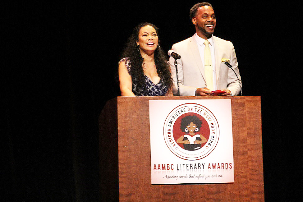 Egypt Sherrod and her husband, DJ Mike Jackson, were two of the celebrity presenters.