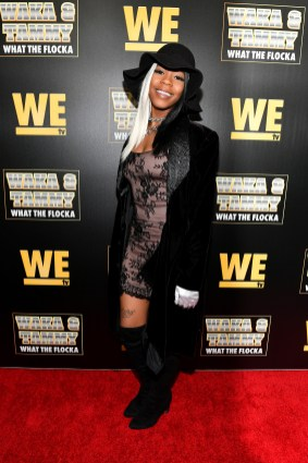 """ATLANTA, GEORGIA - MARCH 10: Buku Abi attends the premiere of """"Waka & Tammy: What The Flocka"""" at Republic on March 10, 2020 in Atlanta, Georgia. (Photo by Paras Griffin/Getty Images WE tv)"""