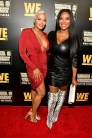 """ATLANTA, GEORGIA - MARCH 10: Eva Marcille and Kenya Moore attend the premiere of """"Waka & Tammy: What The Flocka"""" at Republic on March 10, 2020 in Atlanta, Georgia. (Photo by Paras Griffin/Getty Images WE tv)"""